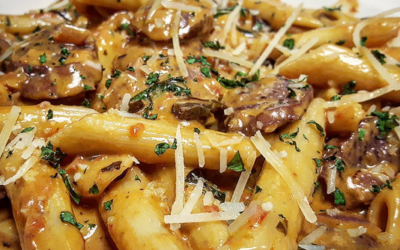 chicken penne vodka